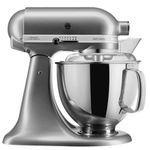 """KitchenAid Artisan Küchenmaschine """"5KSM175PSECU"""" in Silber mit 300Watt für 399€ (statt 449€)"""