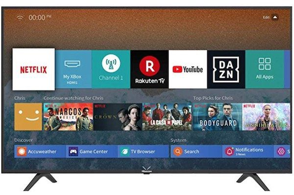 Hisense H65BE7000   65 Zoll UHD Fernseher mit WLAN für 479,79€