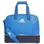 """adidas Tiro Teambag """"BS4750"""" in Small mit Bodenfach in Blau für 9,99€ (statt 20€)"""