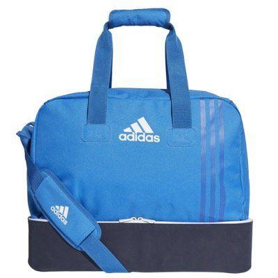adidas Tiro Teambag BS4750 in Small mit Bodenfach in Blau für 9,99€ (statt 20€)
