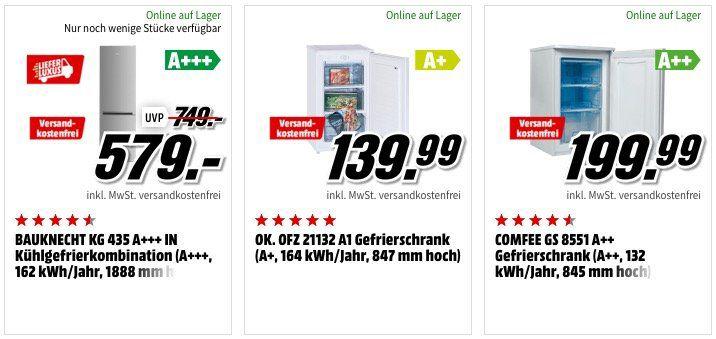 MediaMarkt Semesterstart Aktion mit Haushaltsgeräten inkl. versandkostenfreier Lieferung