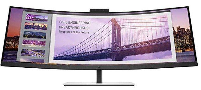 HP S430c   43 Zoll curved UHD Monitor mit Gesichtserkennung für 741,22€ (statt 1.019€)