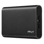 PNY Elite 960GB portable externe SSD mit 960GB SSD für 104€ (statt 121€)