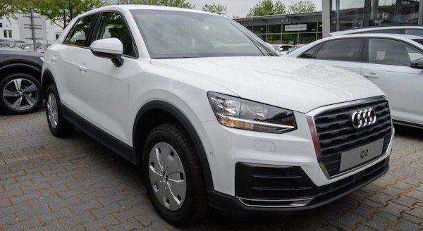 Inzahlungnahme: Audi Q2 35 S tronic mit 150 PS im Leasing für 222€ mtl.   LF: 0.62