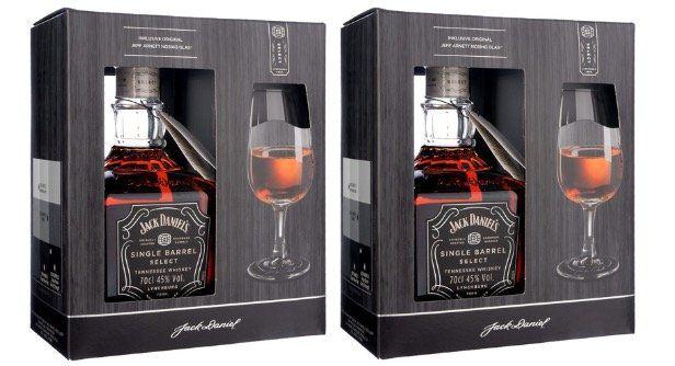 Alkohol Sale mit 5% Extra Rabatt   z.B. 2x Jack Daniels Single Barrel Select 45% mit Glas für 56,81€ (statt 75€)