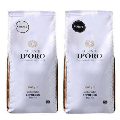 2kg Probierpaket Celeste d'Oro Kaffeebohnen für 32,99€ (vorher 48€)
