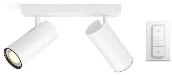 Philips Hue White Ambiance Buratto LED Spot inkl. Dimmschalter für 87,99€(statt 107€)