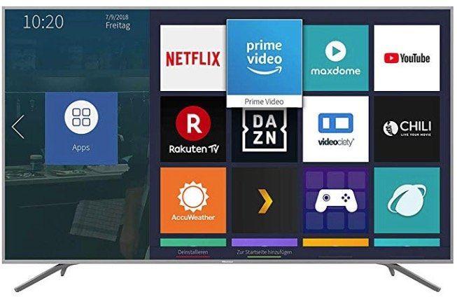Hisense H75BE7410   75 Zoll UltraHD Smart Fernseher für 820,62€ (statt 999€)