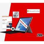 Microsoft Surface Pro 7 mit Core i5, 8GB und 128GB inkl. Microsoft Office 365 Home für 799€ (statt 886€)