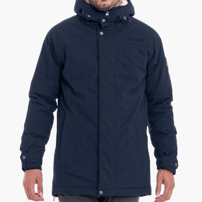 Ausverkauft! Schöffel Herren Jacke Amsterdam in Navy für 103,60€ (statt 205€)   nur in 52 und 54!