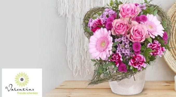 13€ Valentins Blumengutschein für 6,50€   ohne Mindestbestellwert!