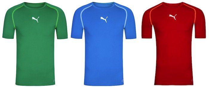 Puma TB Herren Kompressions Shirts für je 5,55€ zzgl. VSK (statt 16€)