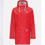 Schmuddelwedda Herren Regenjacke in Rot für 79,54€ (statt 220€) – S, M, L