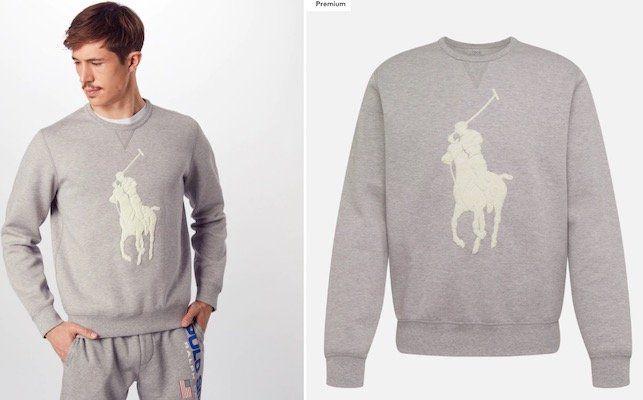 Polo Ralph Lauren Sweatshirt mit großem Frontlogo für 80,91€ (statt 119€)