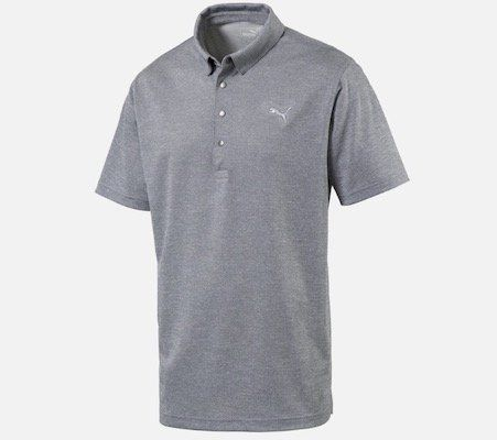 Puma Herren Poloshirt graumeliert für 19,50€ (statt 30€)