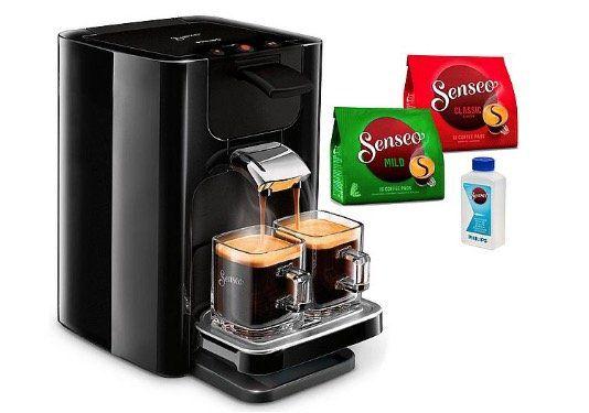 Abgelaufen! Senseo Kaffeepadmaschine Quadrante HD7865/60 für nur 60,70€ (statt 73€)