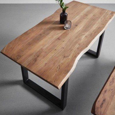 Bessagi Malmo Esstisch aus Akazie Echtholz in 160x85cm für 244,30€ (statt 349€)
