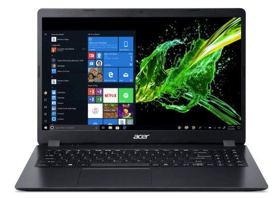 Acer Aspire 3 (A315)   Office Notebook mit Ryzen 5 + 1TB SSD (!) für 479€ (statt 550€)