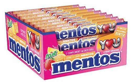 40er Pack Mentos Fruit Dragees Kaubonbons ab 15,19€ (statt 24€)