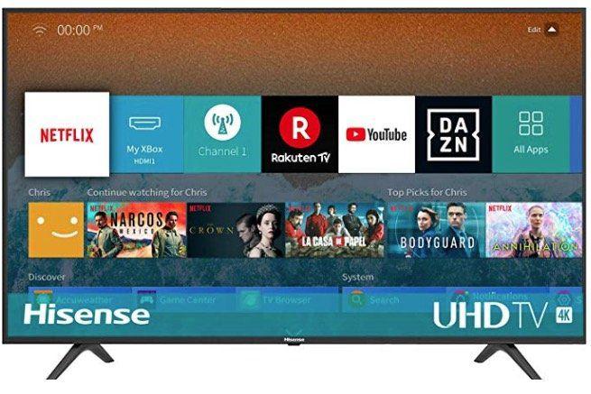 Hisense H43BE7000   43 Zoll UHD Fernseher mit Triple Tuner für 219€ (statt 272€)   Rückläufer