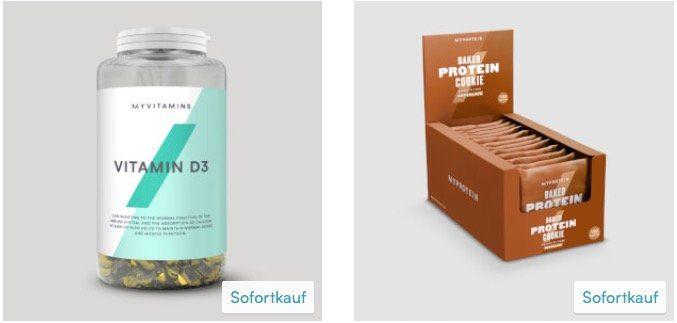 MyProtein: 50% Rabatt auf ausgewählte Produkte   z.B. 12x Proteinriegel für 7€