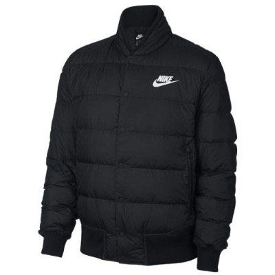 Nike Sportswear Down Fill Daunen Bomber Jacket in Black White für 73,50€ (statt 108€)