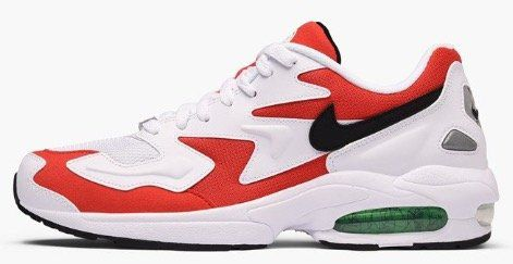 Nike Air Max 2 Light in Black Habanero Red Cool für 53,90€ (statt 70€)