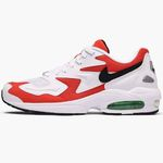 Nike Air Max 2 Light in Black-Habanero-Red-Cool für 53,90€ (statt 70€)