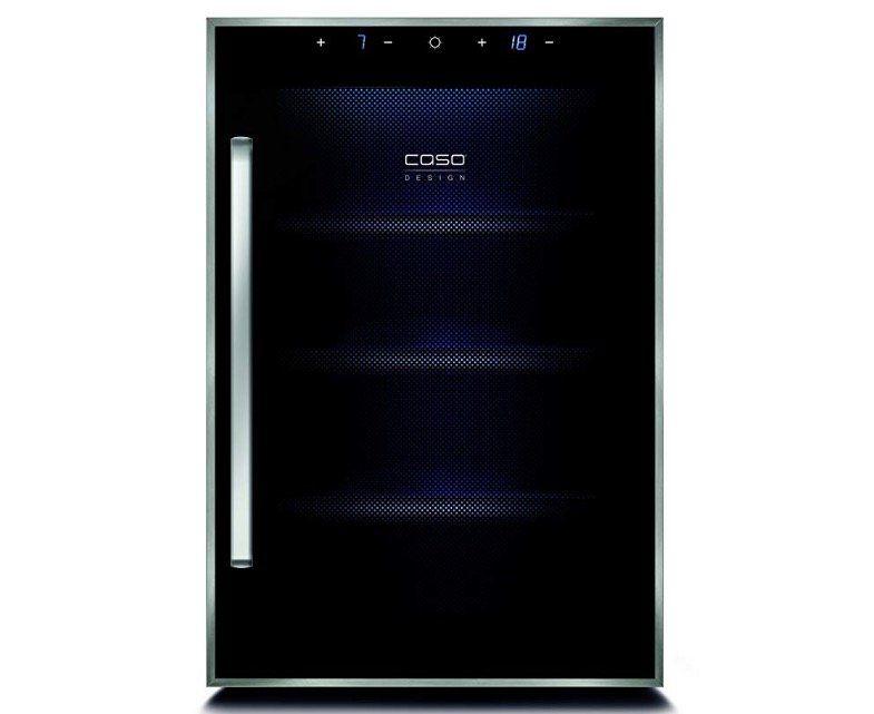 Caso WineDuett Touch 12 Weinkühlschrank mit separaten Temperaturzonen für 158,90€ (statt 250€)