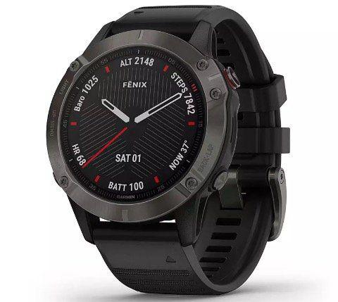 Garmin fenix 6 Sapphire GPS Sportuhr für 604,95€ (statt 658€)