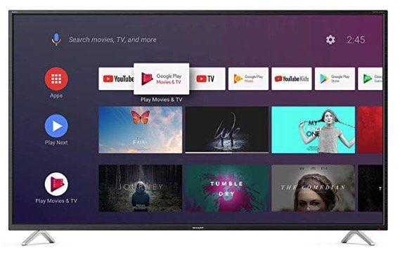Sharp LC 50BL2EA   50 Zoll UHD Android Fernseher für 289€(statt 410€)