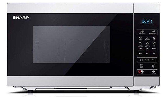 Ausverkauft! Sharp YC MG51ES Mikrowelle mit 900 Watt ab 68,99€ (statt 96€)