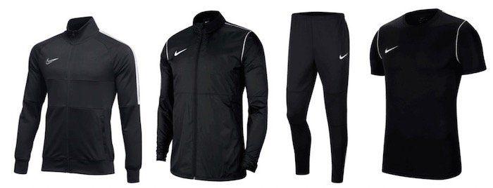 Nike Trainingsset 5 teilig (Jacke, Hose, Regenjacke, Shirt, Short) für 62,95€ (statt 95€)