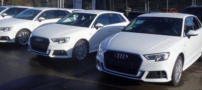 Audi A3 Sportback S line Ext. mit 150 PS im Leasing für 199€ mtl.   LF: 0.53