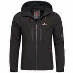 Höhenhorn Herren Outdoor Softshell-Jacke Jorases in Schwarz für 39,99€ (statt 60€)