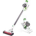 Proscenic P9 2-in-1 Vacuum-Staubsauger mit 15kPa in Grün-Weiss für 114,99€ (statt 159€)