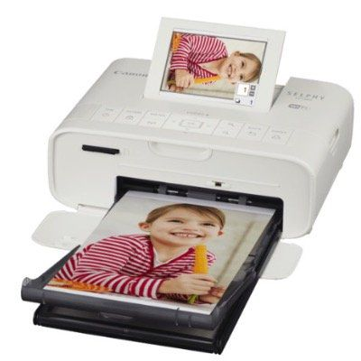 CANON Selphy CP1300 Fotodrucker mit Thermosublimationsdruck ab 98,20€ (statt 111€)