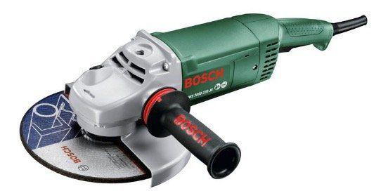 Bosch PWS2000 230JE Zweihand Winkelschleifer 2000W mit Anti Vibrationshandgriff für 77€ (statt 89€)