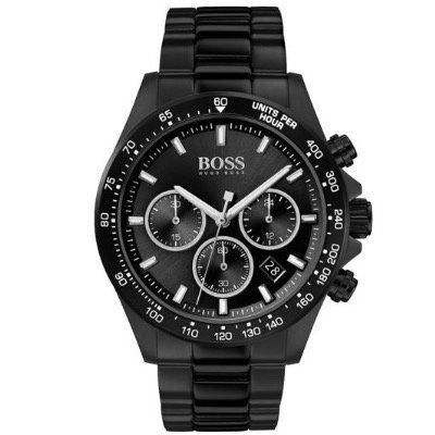 BOSS Chronograph 1513754 mit Datumsfunktion aus Edelstahl in Schwarz für 210,16€ (statt 263€)
