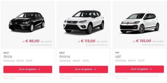 Bis 1.000€ Cashback auf Leasing Fahrzeuge bei Vehiculum   z.B. Audi A4 Avant 30 TDI (48 Monate/20TKM) nur 239€ mtl.
