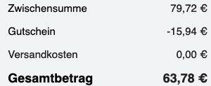 Jette Joop Damen Quarzuhr Time mit Kristallen in Schwarz für 63,78€ (statt 80€)