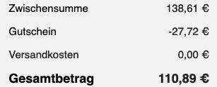 Skagen Quarzuhr SKW6381 in Grau aus Titan für 110,89€ (ab 149€)