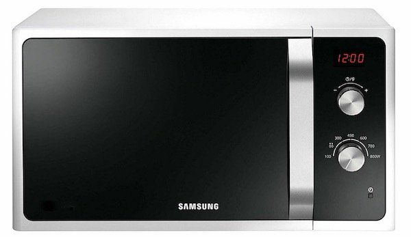 Samsung MS23F300EEW Mikrowelle mit 23 Litern und Digital Display für 85€ (statt 105€)