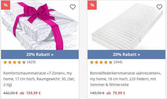 Yourhome: 20% Rabatt auf alles der Marke My Home   z.B. Sideboard mit 150cm Breite für 184€ (statt 230€)