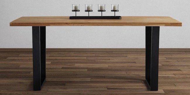 🔥 Esstisch Kayla aus Eiche Echtholz (180x90 cm) für 275,13€ inkl. VSK