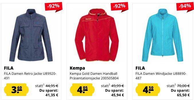 SportSport Jacken Mega Sale   z.B. Puma Windbreaker nur 17,22€ (statt 20€)