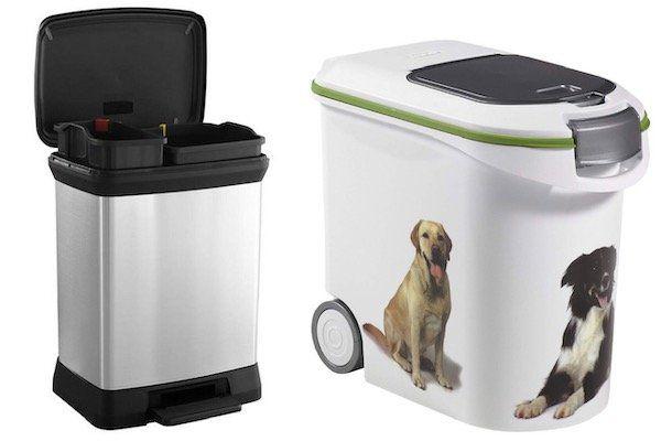 Curver Mülleimer und Tierfutterbehälter bei Top12   z.B. Curver Deco Bin Duo Abfalleimer für 29,24€ (statt 37€)