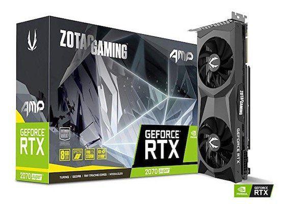 Ausverkauft! Zotac GeForce RTX 2070 SUPER AMP! für 459€(statt 553€)