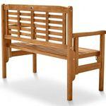 Balkon Sitzbank (klappbar) aus Akazienholz für 49,99€