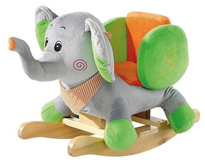 Heunec Schaukeltier Elefant (61 cm) mit Sound für 70,17€ (statt 87€)
